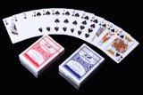 Cartões de jogo de papel no. do póquer do casino 988
