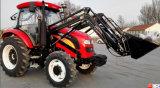 80HP 100HP 110HP 120HP 150HP 4はセリウムが付いている農業のFotonの農場トラクターを動かした