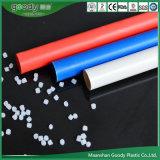 PVC 배선 관 빨간 파란 백색 고압 케이싱 관