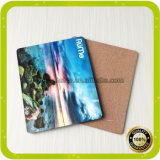 Chine Haute qualité 32X23cm Square Sublimation Wooden Cork Placemat