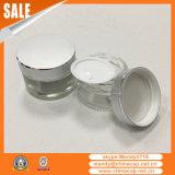 choc 15g20g30g50g crème en aluminium cosmétique avec le chapeau argenté