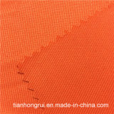 Tissu de coton ignifuge tissé par épreuve jaune-clair d'usure de travail de tissu de l'eau
