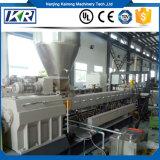 Extrusión gemela del tornillo para los granos de Masterbatch del PP PE + 85% CaCO3 que hace la máquina