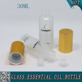 бутылка эфирного масла матированного стекла 30ml с крышкой и штепсельной вилкой Glod