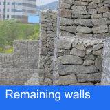 Zink Coating Gabion Baskets für River Treatment/PVC Coated Gabion Basket für Remaining Wall