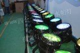 18*10W etapa impermeable Lgiht de la IGUALDAD del zoom LED