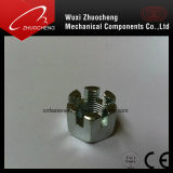 Écrou en acier au carbone hexagonal DIN937 DIN979
