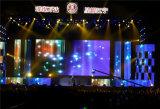 schermo di visualizzazione creativo del LED di pH5.2mm per l'affitto della fase