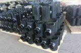 T dell'accessorio per tubi della saldatura di testa del acciaio al carbonio di ANSI/JIS