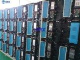 Visualização óptica ao ar livre do diodo emissor de luz do arrendamento P5.95 com o gabinete de alumínio leve