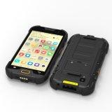 NFCのバーコード1d/2Dのスキャンナー、WiFiの継ぎ目が無いローミングの5インチのクォードのコア1.5GHz Mtk6737A IP68 Smartphone