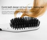Раскручиватель щетки волос LCD утюга горячей щетки плоский