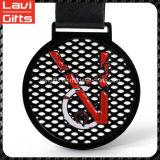 Buen Diseño Medalla Sport Negro Calidad confiable personalizada