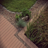 Pavimentazione di legno per la piscina e le mattonelle di pavimento poco costose di WPC