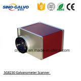 varredor Sg8230 do Galvo da abertura de 30mm para a máquina de gravura profunda do laser
