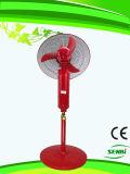 16 pouces de 12V de C.C de stand rupteur d'allumage rouge de ventilateur de grand