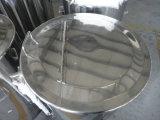 Hervidor de 75 galones de cerveza con entrada tangencial y vidrio de vista