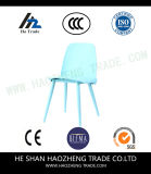 El plástico del caballo de madera sólida sienta la silla de la tarjeta - turquesa