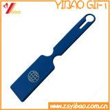 Tag da bagagem do OEM Silicone/PVC da forma para o Tag da etiqueta