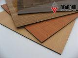 Fachada material impermeable durable del espesor de Ideabond 4m m nueva de China