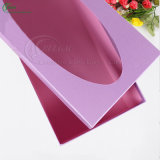 Rectángulo de regalo de papel de encargo con la ventana para empaquetar (KG-PX081)
