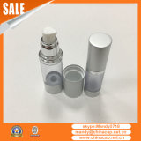 frascos mal ventilados de alumínio da prata do creme de corpo 15g30g50g