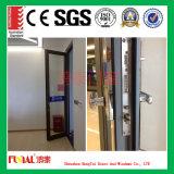 Размер-Подгонянная дверь Casement самого лучшего качества алюминиевая