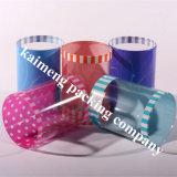 Tubo de regalo promocional Cilindro de plástico transparente para mascotas