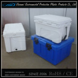 Caixa plástica isolada plástico do refrigerador do alimento de Rotomolding