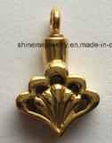 Colgantes plateados oro del collar del acero inoxidable de la manera