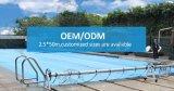 Bobines solaires noires de couverture de piscine d'Inground de type neuf