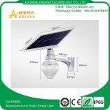 12W imperméabilisent le réverbère solaire de DEL