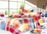 新しいSize 4PC寝具一定王の羽毛布団カバー一定のMicrofiberの極度の柔らかい生命
