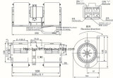 Il ventilatore più poco costoso del A/C del bus senza professionista del resistore 15 anni