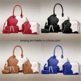 gesetzter Handtaschen-Schulter-Beutel-Fondstote-Beutel der Frauen-4PCS