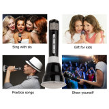 Draadloze Microphones Karaoke, 3 in-1 machine KTV van Bluetooth Karaoke (Black)