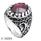 De recentste Model Echte Zilveren Ring van Juwelen 925 voor de Mens
