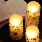 [رد بن] أرجوحة عمود عديم لهب [لد] شمع شمعة لأنّ [ويدينغ]/[كريستمس]/عيد ميلاد