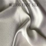 100% natürliches Silk doppeltes seitliches Satin-Gewebe für Hochzeits-Kleid