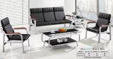 Populäres klassisches Entwurfs-Leder-Büro-Sofa-allgemeines Sofa-Wartesofa und Stuhl 1+1+3
