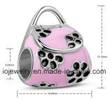 Elegante e Lovely Pink Handbag Bead