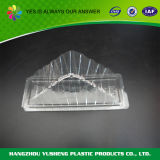 Haustier-Wegwerfdreieck-transparenter Zwischenlage-Behälter