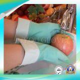 Luvas do trabalho da limpeza do látex da segurança da alta qualidade com o ISO9001 aprovado