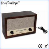 Portátil de madera retro de radio FM / AM (XH-FM-010)