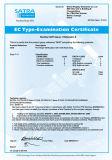 Неподдержанный длинней перчатка нитрила втулки выровнянная стаей химически с Ce аттестует -5620