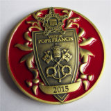 Kreativ Metal uns Papst Francis Brass Coin