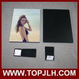 Sublimation de madeira brilhante personalizado do frame da foto do MDF