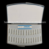 Venta caliente de ortodoncia Sapphire soporte de cerámica con CE y FDA