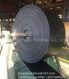 Correia transportadora de borracha resistente da tela preta (GV, ISO9001: 2008)