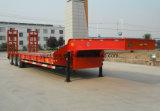 De bâti de Lowboy de camion remorque 16m inférieure lourde semi